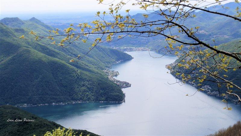 Varese Italien lake lugano ceresio